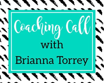 Coaching Call with Brianna Torrey - Craft Show Mentor Session - 30 Minute Session - 60 Minute Session