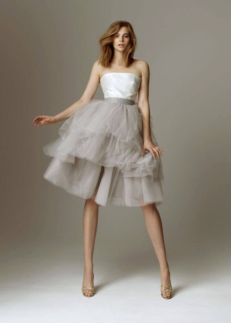 Bridal BRITNEY Skirt  Bridal Separates Wedding Skirt Wedding Separates bridesmaid tulle skirt Plus Size Available Over 50 Colors Available