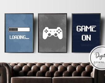 Gaming decor  Etsy