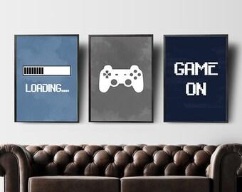Gaming Art Etsy