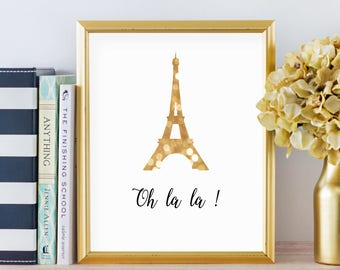 Eiffel Tower Print Paris Wall Decor Paris Print Paris Wall Art Eiffel Tower Wall Art Paris Bedroom Decor Paris Theme Party French Prints