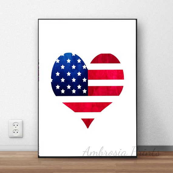 photograph about Printable Usa Flag identified as 4th of July Printable, United states of america Flag Print, 4th of July Wall Artwork, American Flag Print, 4th of July Decor, American Flag Artwork, Fast Obtain