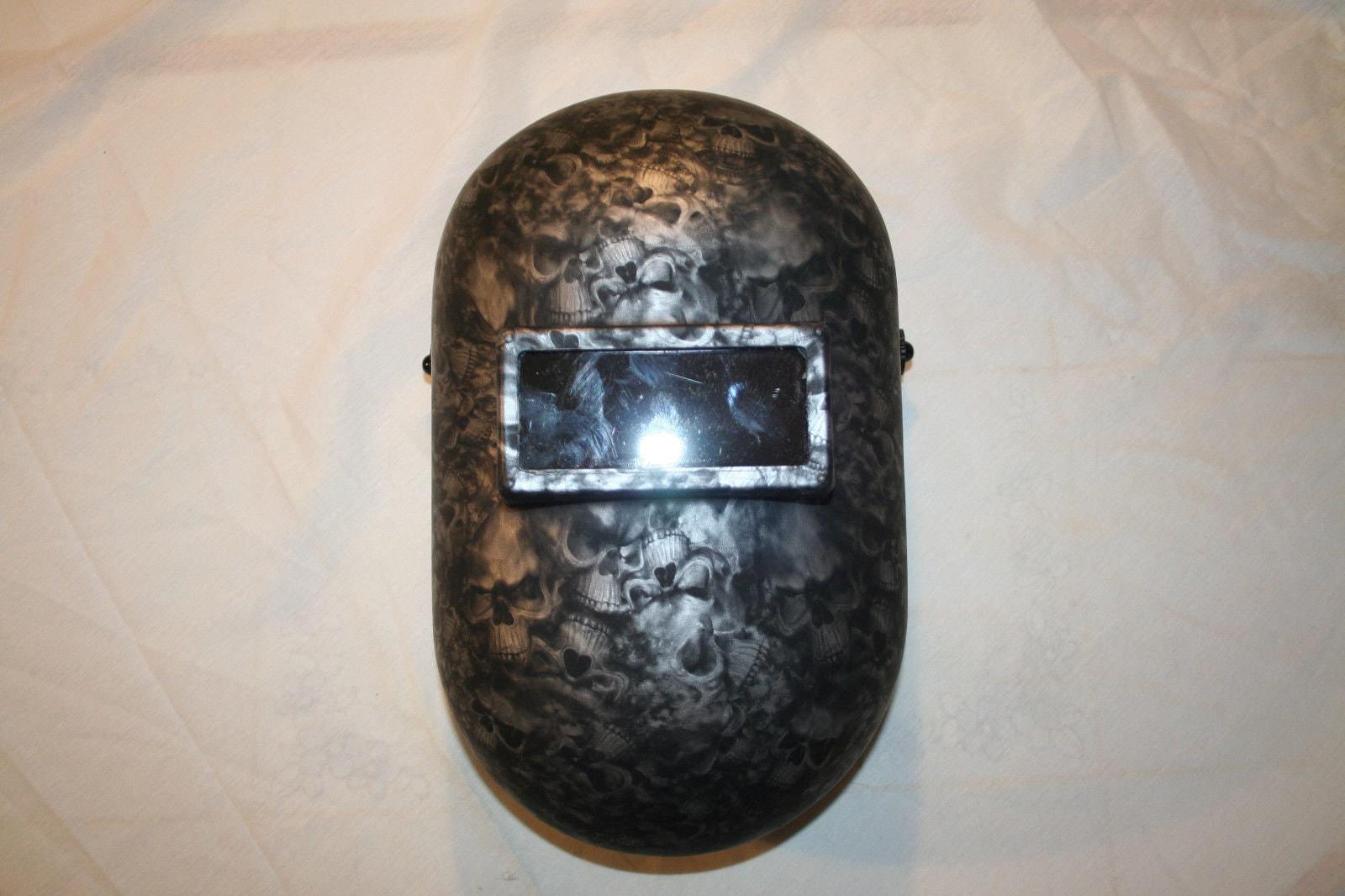Custom Welding Helmets >> Custom Honeywell Fibre Metal 110pwe Pipeliner Welding Helmet Etsy