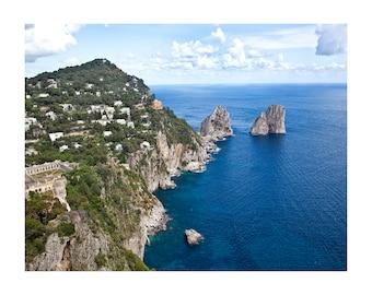 Faraglioni,Capri, Italy