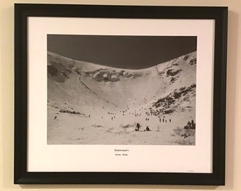 SPECIAL Tuckerman's Spring Skiing 20x24 framed and magnet