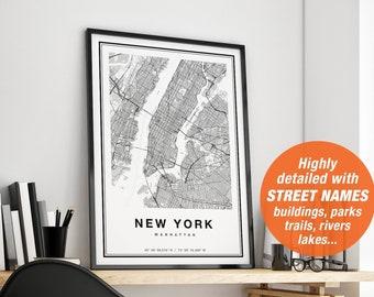 Nyc Subway Map Wood 3d.New York Map Etsy