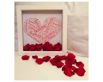 Valentine's Day  Photo Box Frame