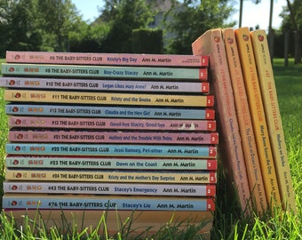 Vintage Babysitters Club Books // Individual or as a lot