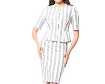 Zara's Two-piece Skirt Suit Set