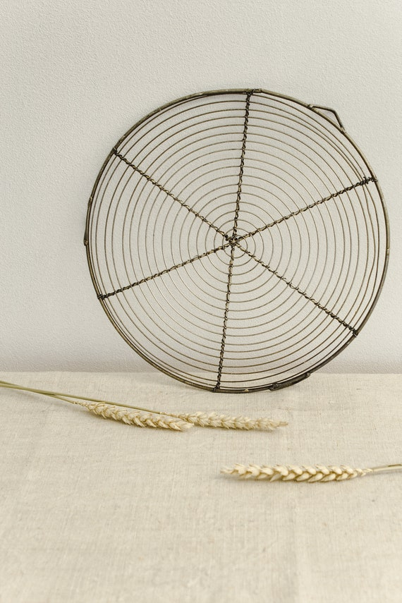 French Wire Cooling Rack Wire Baking Rack Round Cooling