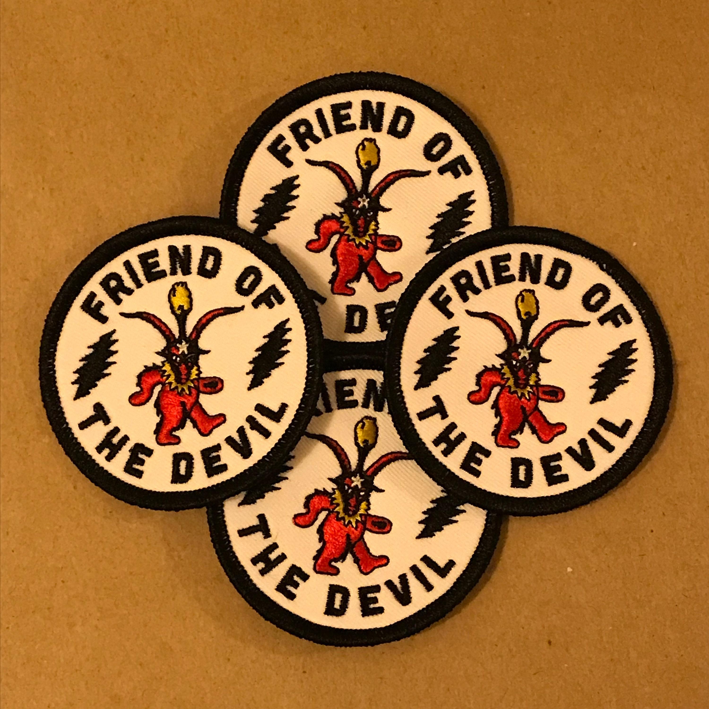 Grateful Dead Friend Of The Devil Patch   Etsy