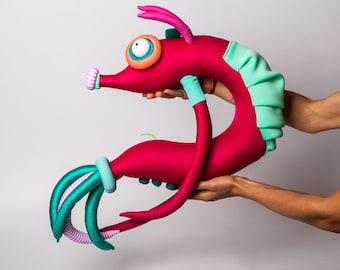 Shrimp Plush Etsy