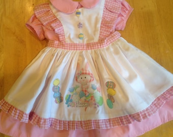 Retro 1950 s infants   toddler s Easter dress 15a237563b89