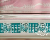 Pyrex butterprint space saver decal (decal only dish not included)