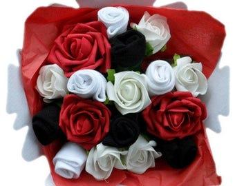 2e222a7c26640 Ladies or Mens Sock Bouquet