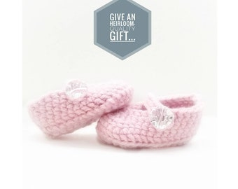 Crochet Twinkle Janes-Baby Booties-Baby Girl Clothes - Mary Janes - Baby Mary Janes - Newborn Girl Coming Home Outfit - Baby Girl Shoes -