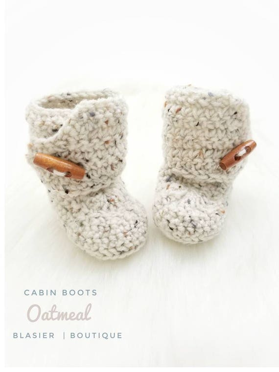 464e1f1fc939a Crochet Cabin Baby Booties-Baby Boy Clothes - Baby Boy coming home outfit -  Newborn Girl Coming Home Outfit - Baby Girl Shoes - uggs