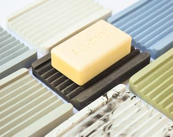 Concrete Soap Dish - Draining Soap Holder - Bathroom Accessories - Modern Decor - Beton - Cement - Soap Tray - Minimalist - Soap DIsplay