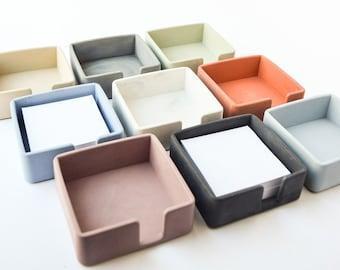 Sticky Note Holder - Post It Holder - Desk Accessories - Postit Organizer - Desk Organizer - Modern Desk - Minimalist - Home Office