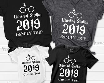 30e66ff66 Family Trip Matching 2019 Shirts, Universal Studios Shirts, Family Set  Shirts, Matching Family Outfit, Family Vacation Shirt