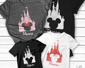 99bf2373 Disney Shirt, Custom Disney Shirts, Custom T-shirt, Family Disney T-shirt,  Family Shirt, Matching Family Disney Shirt