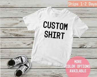 1c37a060 Custom Baby Shirt – Personalized Baby Shirt - Baby Boy - Baby Girl - Personalized  Shirts - Custom Shirts - Baby Outfit - Custom Infant Shirt