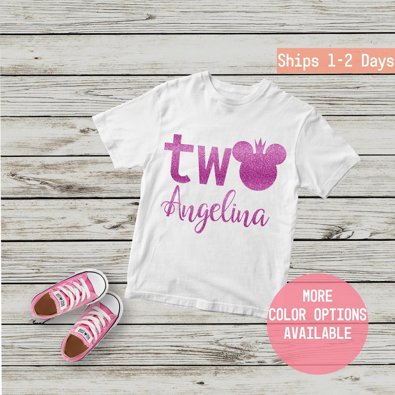 2nd Birthday Shirt Second Shirts Personalized