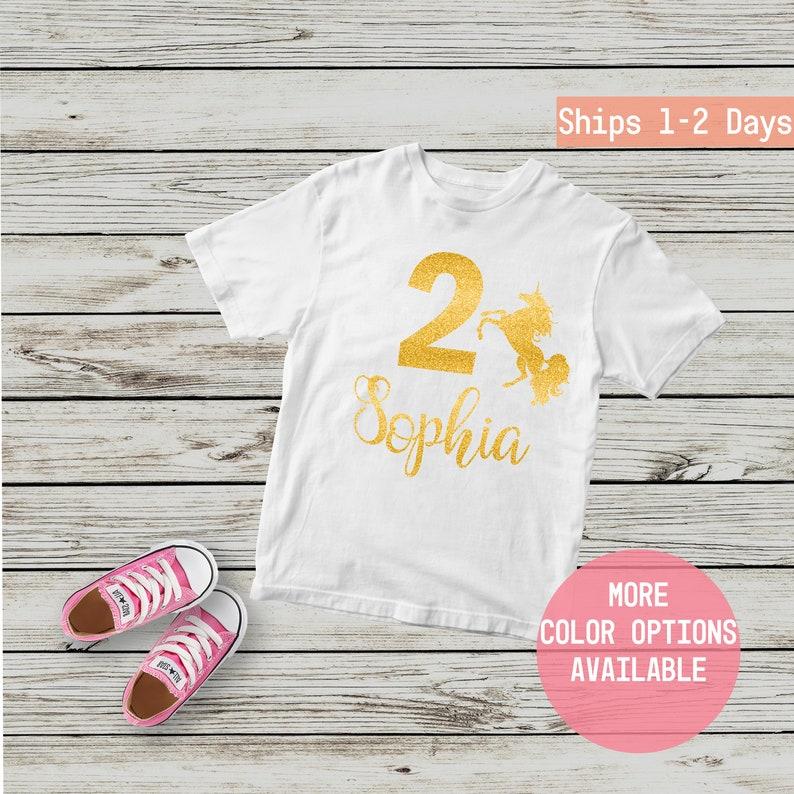 2nd Birthday Shirt Second Shirts Personalized