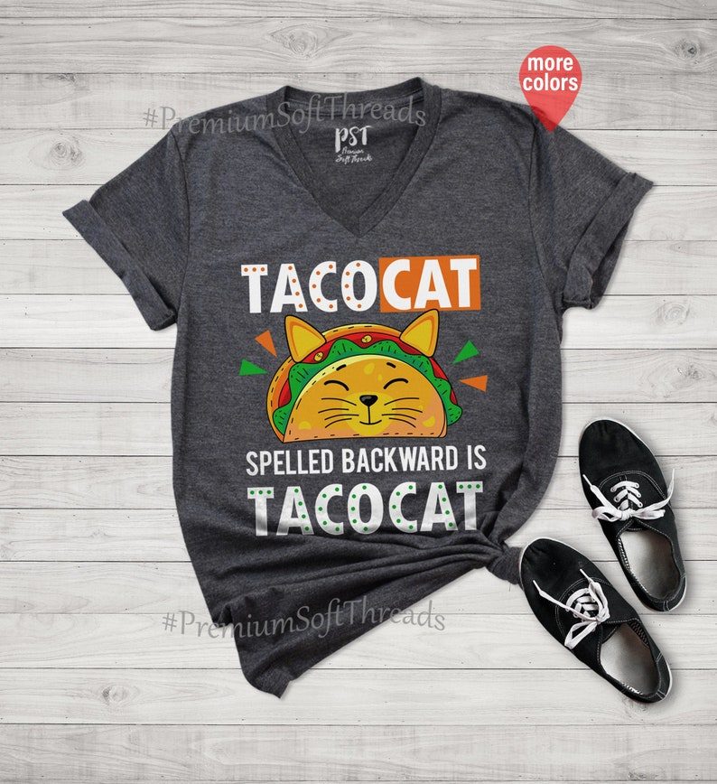 Spelled Bacward Is Tacocat Shirt Masswerks Store