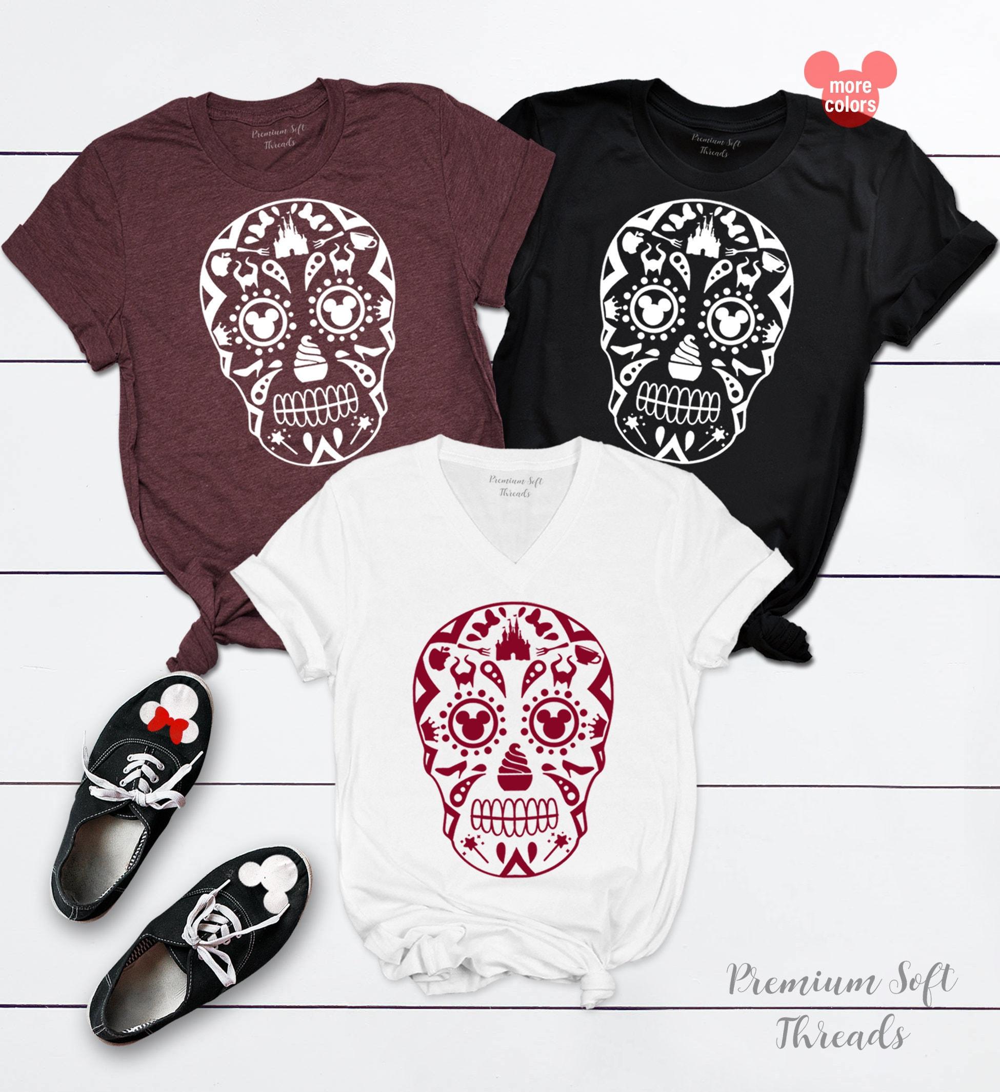 Disney Shirts, Disney Sugar Skull Shirts, Mickie Mouse Shirts, Family  Disney Shirts, Family Disney T-shirt, Matching Family Disney T-shirts