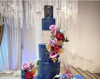 SIDE BAR Floating cake spacer - anti gravity cake stand - hidden cake stand - floating cake separator - illusion cake - wedding cake stand