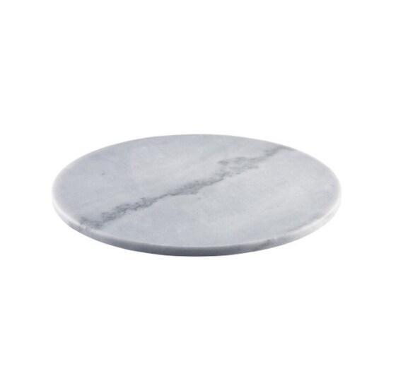 Grauer Marmor Kuchen Platte 12 Zoll Marmor Servierplatte | Etsy