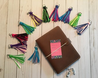 Mini Planner Tassels in Assorted Colors