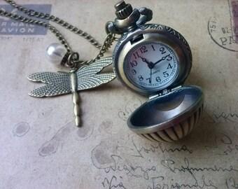 Ball Chain Watch ~ Bronze ~