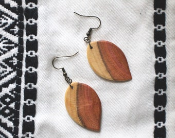 Plum Wood Leaves