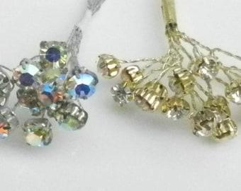 Peel and Stick Diamante Craft Gems 240 per pk Craft Embellishments Clear Craft