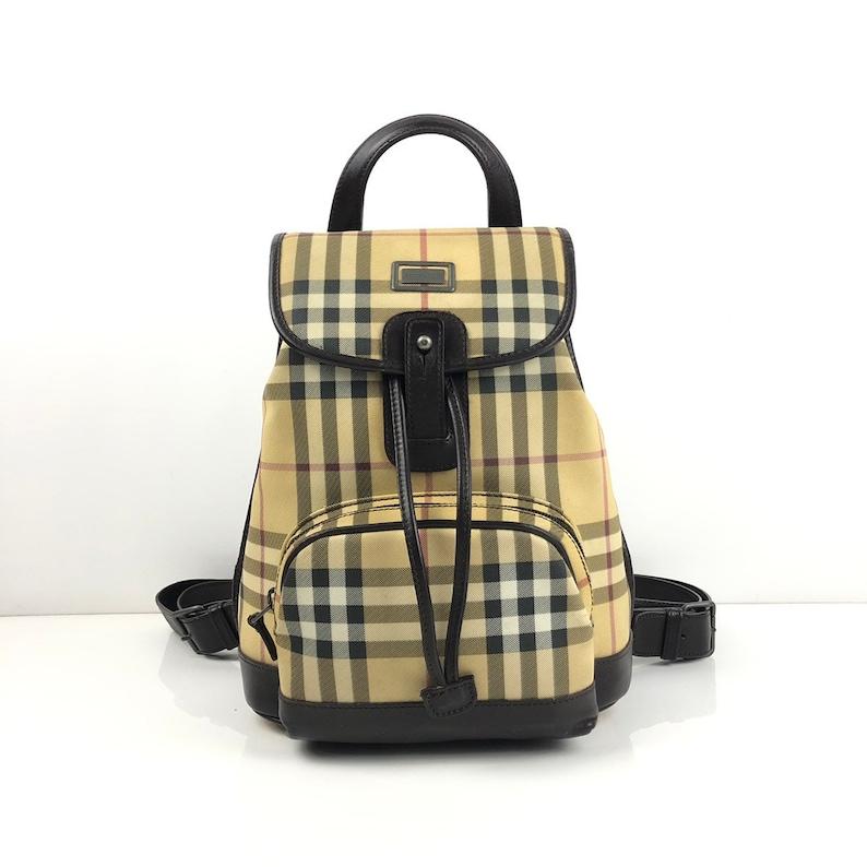 268df045f035 Burberry Nova Check Backpack