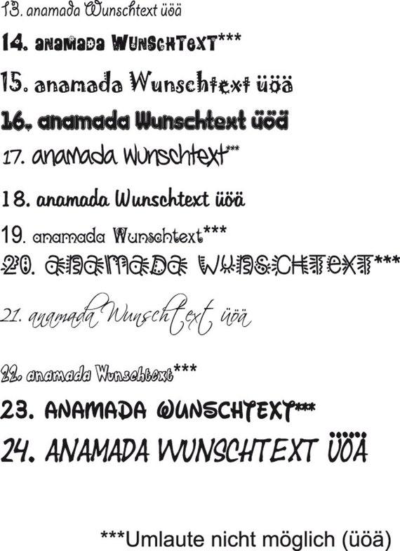 Wandtattoo Wunschtext Zitat Sprüche Name Wandaufkleber Autoaufkleber Schmetterlinge Sterne Herzen Aufkleber Wa 090