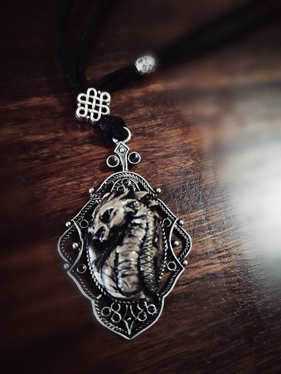 Jewelry Ancient Cool Color Amulet Pendant Necklace Deer Charm Viking For Man
