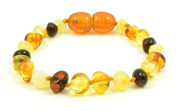 5e74501588b Dentition ambre Bracelet   bracelet de cheville pour bébé