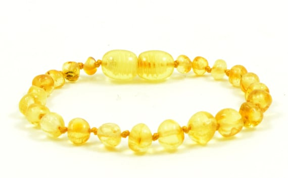 Baltic natural amber necklace or//and bracelet anklet baby to children bean beads