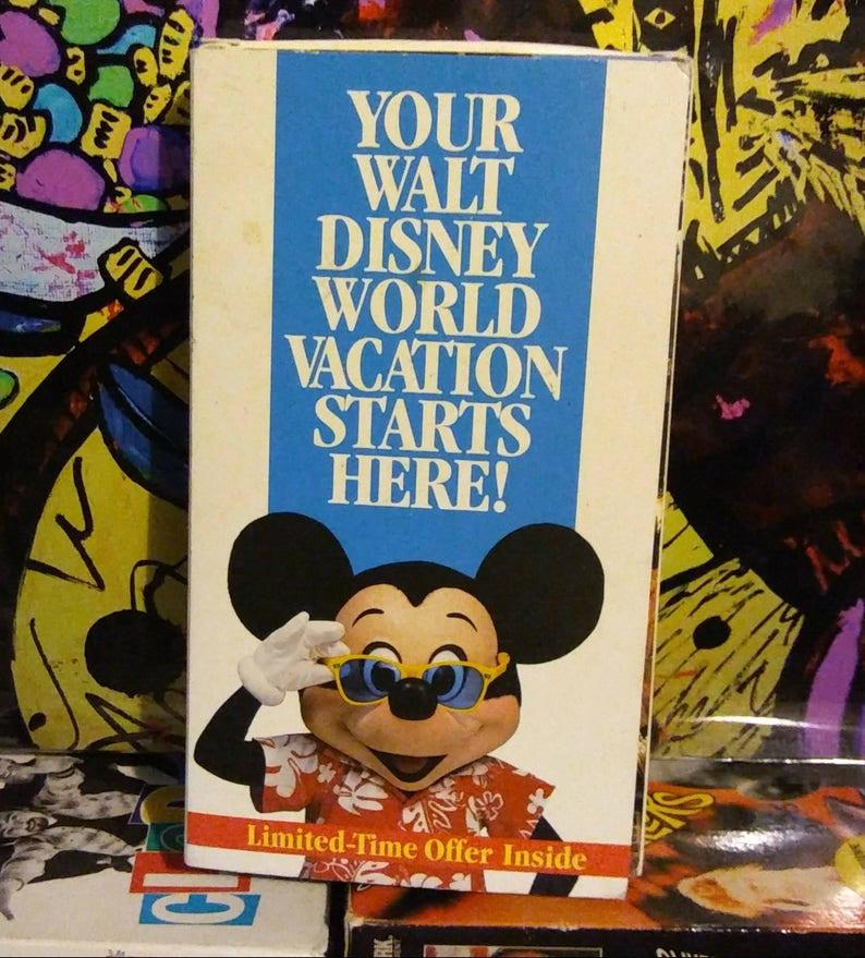 1994 Disney World Vacation Planner VHS