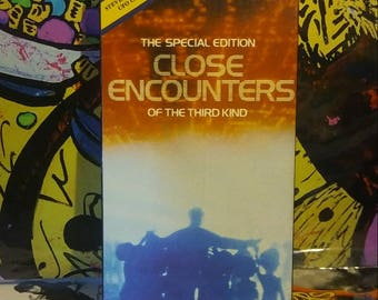 1988 Close Encounters of the Third Kind Special Edition VHS