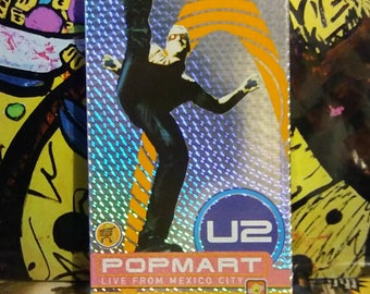 U2 - Popmart Live From Mexico City VHS