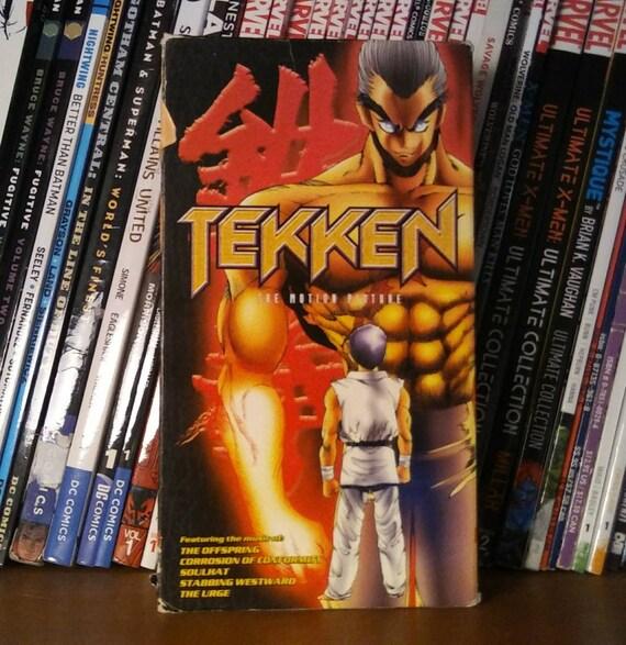 Tekken The Motion Picture Vhs Etsy