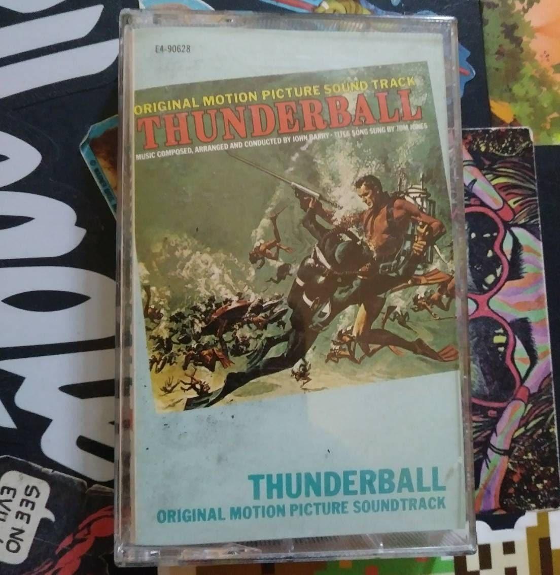 Vintage 007 - Thunderball Soundtrack cassette