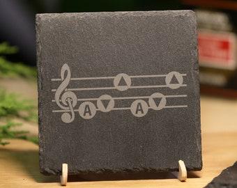 DMC DeLorean Slate Coasters Engraved Gift Set BUY 3 GET 1 FREE MIX /& MATCH