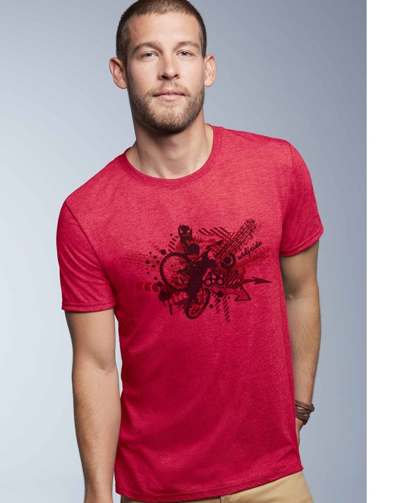 white powder wolfride top tee Soft print. Snowboarding t-shirt organic