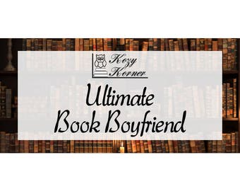Ultimate Book Boyfriend Handmade Soy New Candle
