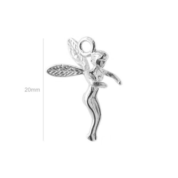 Sterling Silver Charm ELF Charm Charms Pendants for Bracelet and Pendant Jewelry Making & Beading Charms